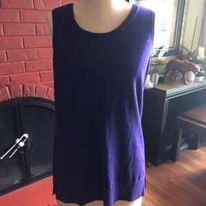Chicos sz 1/ med purple sweater.
